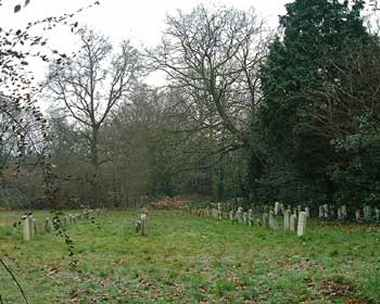Quaker Burial Ground, Bush Wood