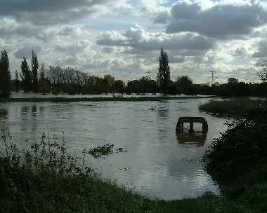 Flooding of the River Roding